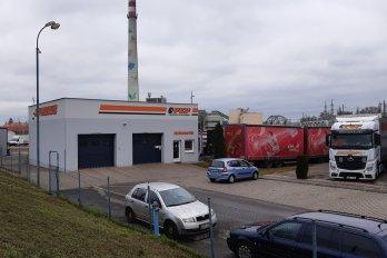 Budova autoservisu